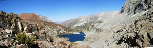 Above Big McGee Lake