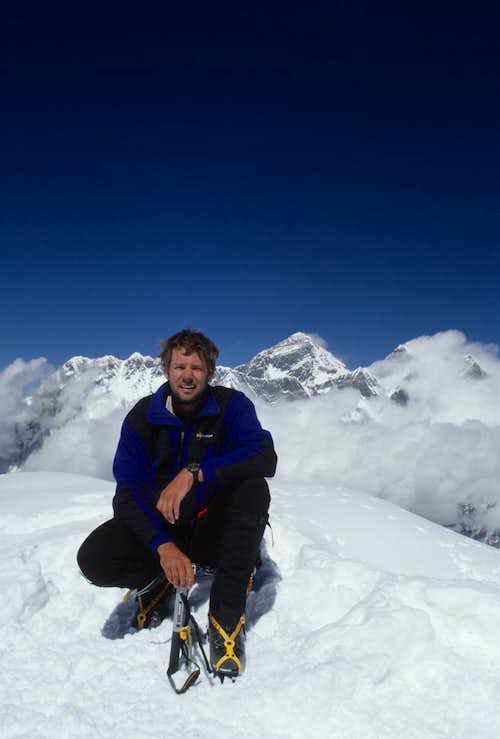 Ama Dablam summit photo