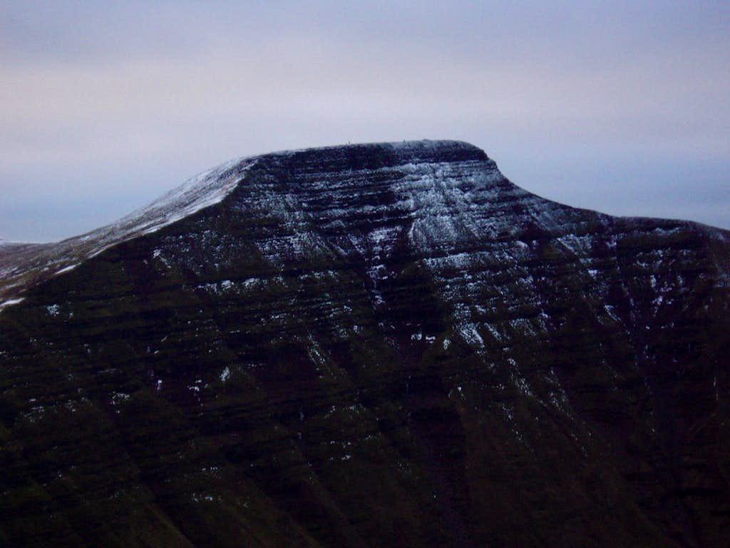 Pen Y Fan in Winter (886m)