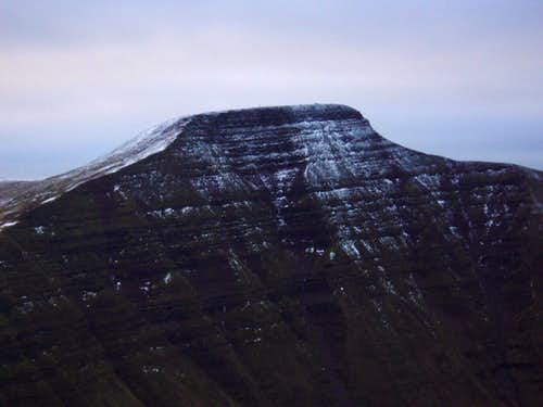 Pen Y Fan in Winter (886m)
