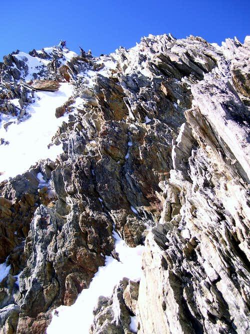 Nadelhorn summit