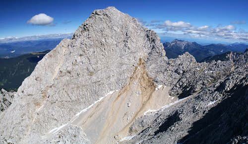 Spik south face