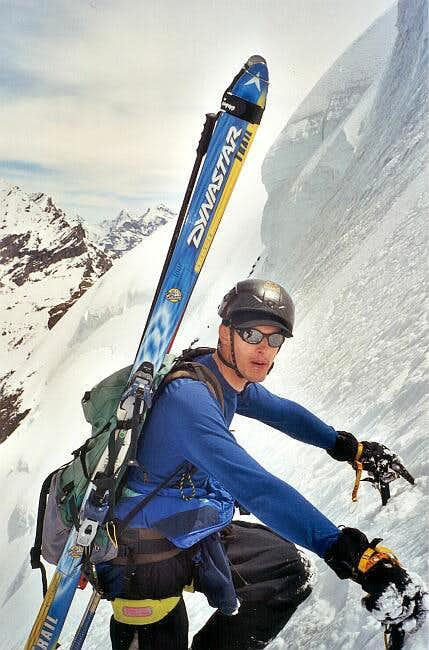 Doldenhorn, Climbing the...