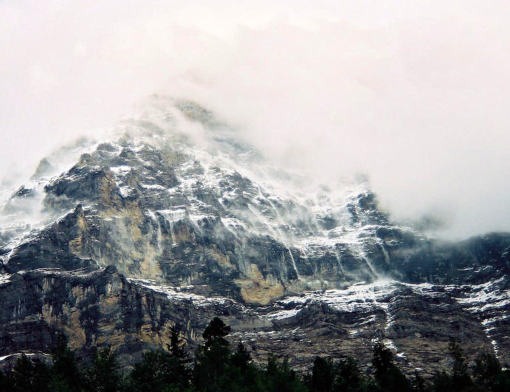 Eiger Nordwand - schlechtes Wetter