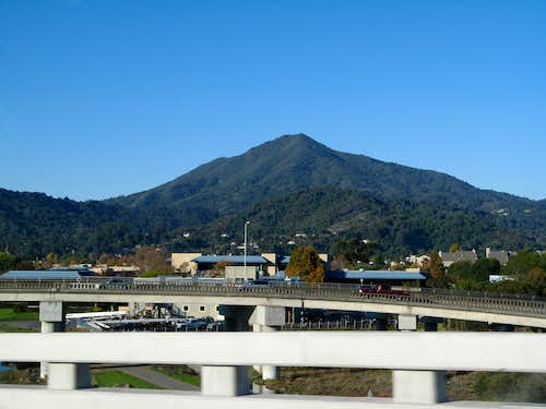Mt. Tam from Hwy. 101