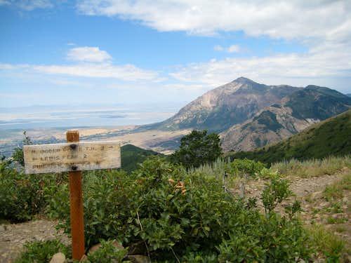 Lewis Peak - Jul '07