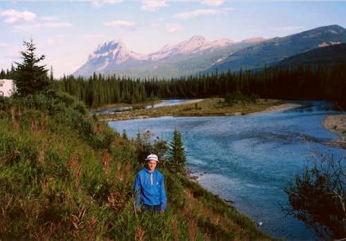 Castle mountain -Banff National Park