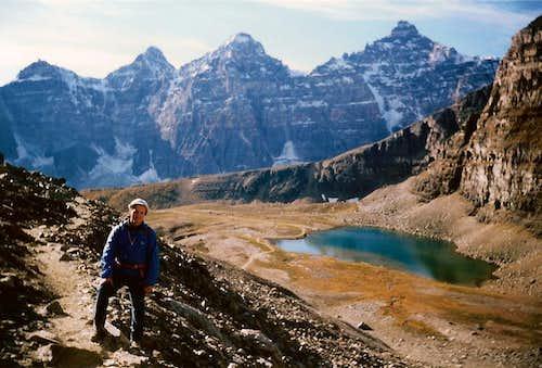 Lake moraine-Banff National Park