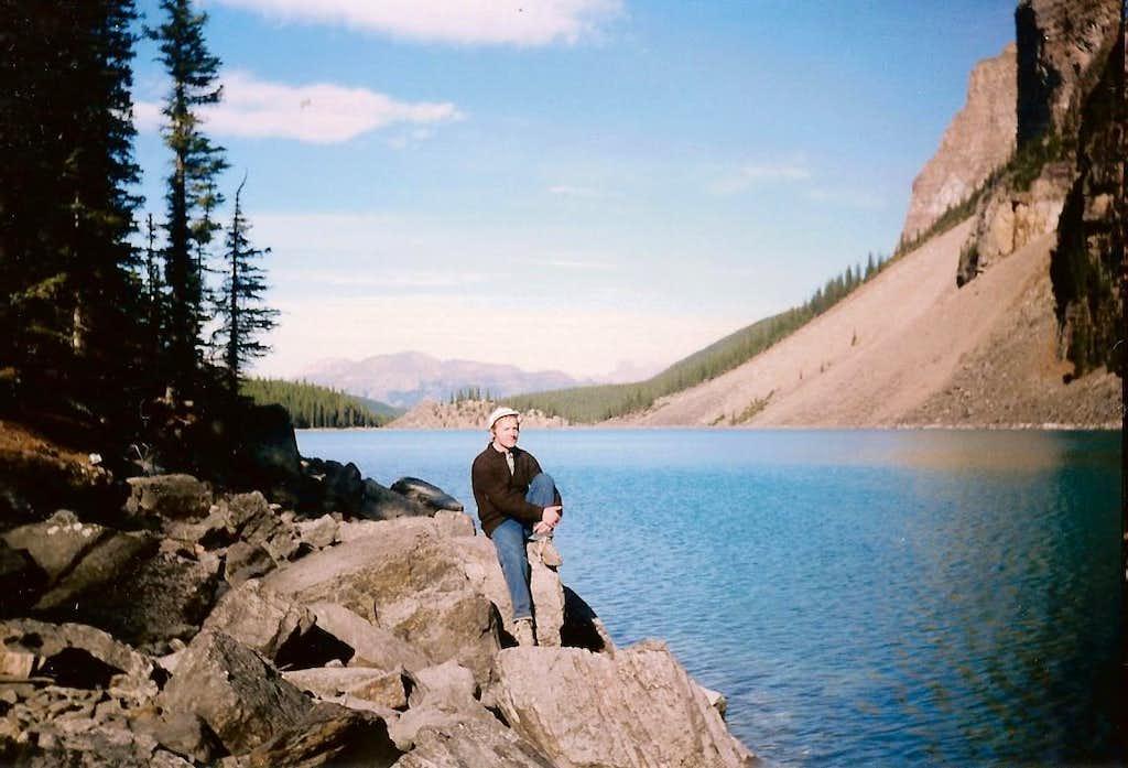 Moraine Lake-Banff National Park