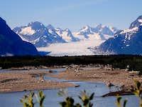 Sheridan Glacier from Copper River Road