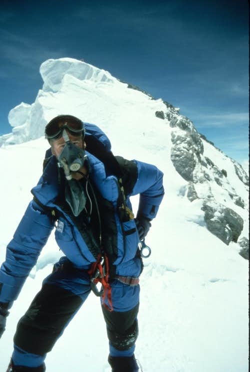 Mt. Everest summit photo