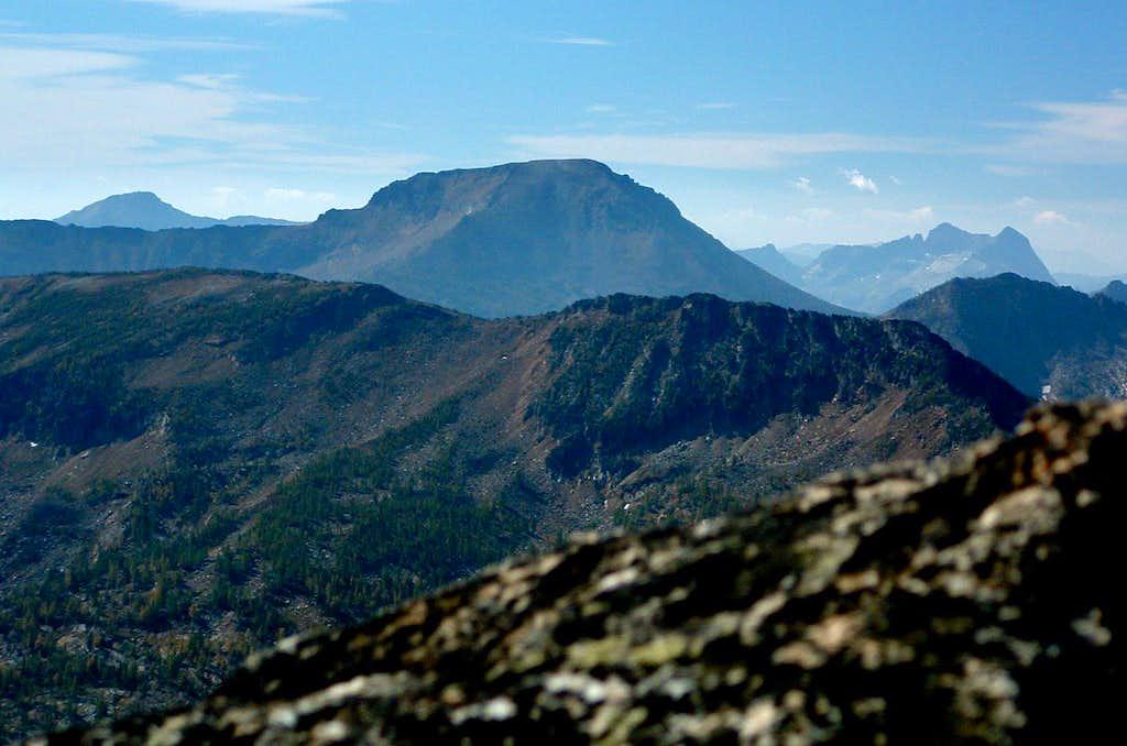 Saint Joseph from Lolo Peak