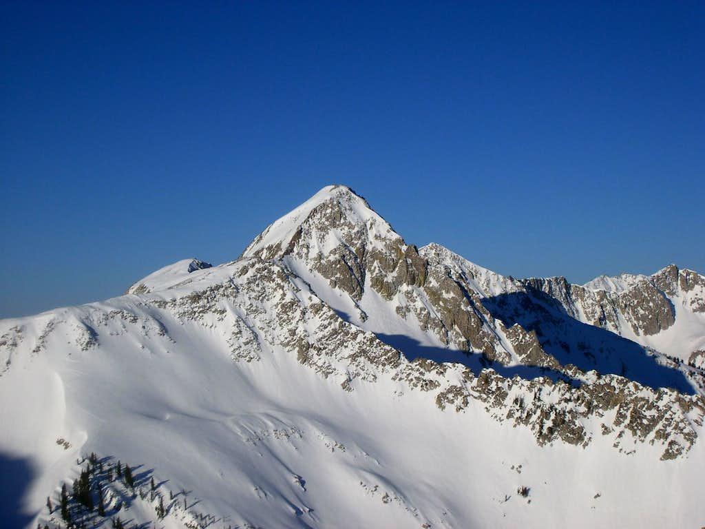 Pfeifferhorn via lake Peak