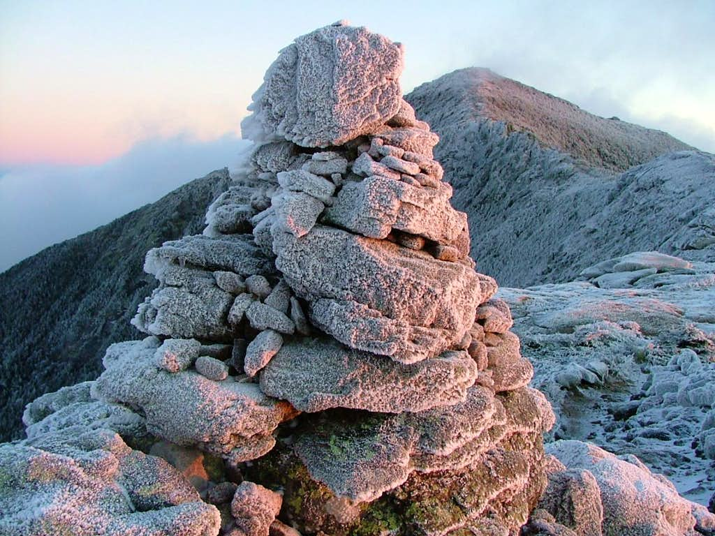 Cairn and Mount Lincoln