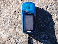 GPS of the summit