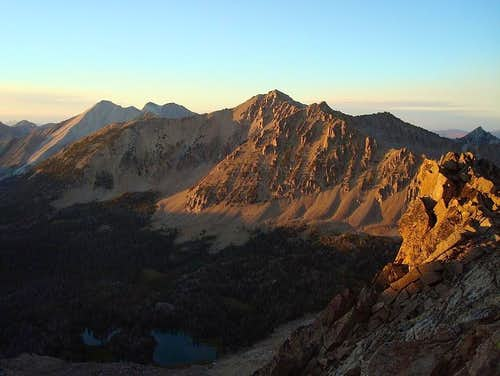 Lonesome Peak Sunset