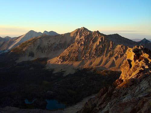 Lonesome Peak Sunset