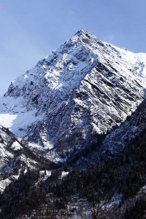 Winter on Tagliaferro.
