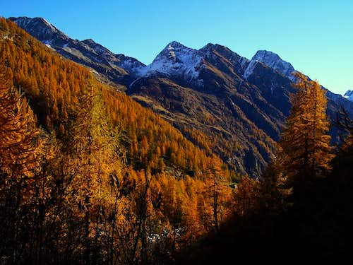 Autumn on the mounts of Valsesia