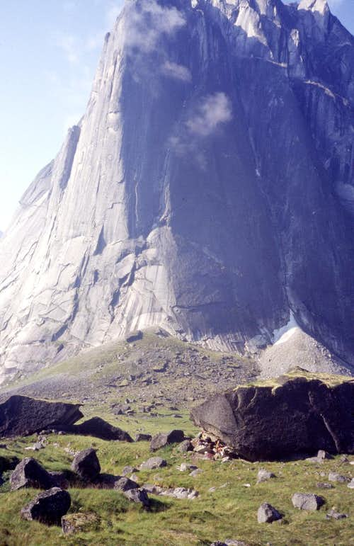 Camp - Cirque of the Unclimbables