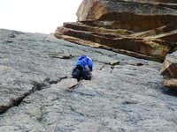 Mountaineer s Route - pitch 2