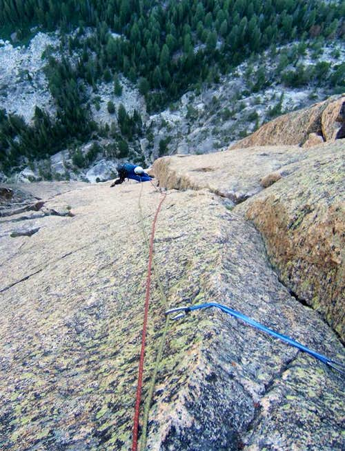 Mountaineer s Route - pitch 5