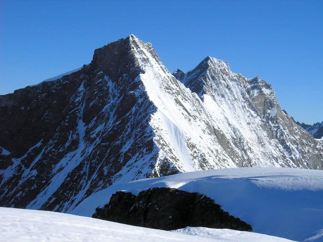 how tall is taschhorn mountaine