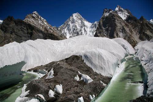 Gasherbrum-IV (7925m), Karakoram, Pakistan