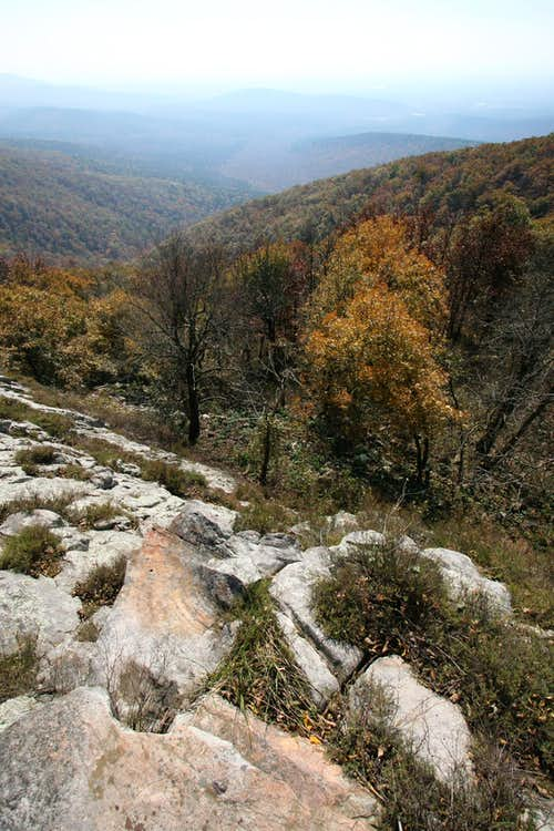 Lovers Leap on Rich Mountain