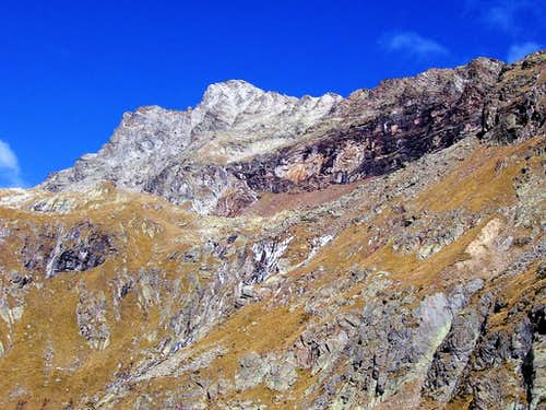 Corno Bianco south face