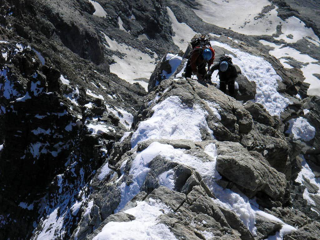 Matterhorn 4478m - Hörnli ridge