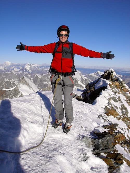 On the Top of  Matterhorn 4478m