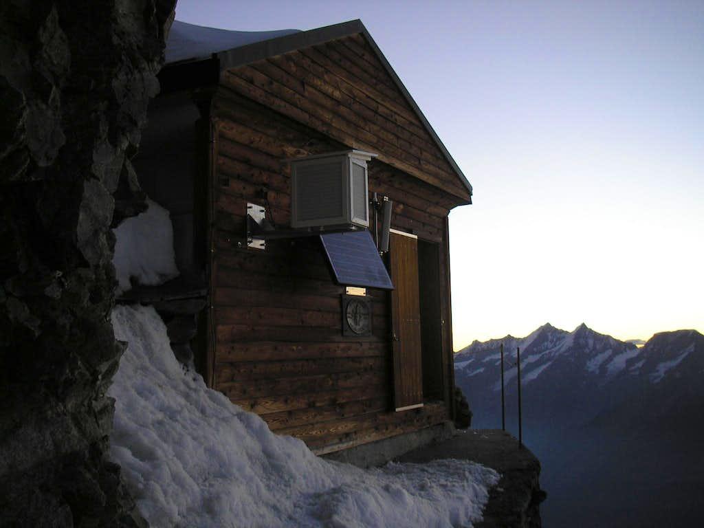 Matterhorn 4478m - Solvayhut 4000m