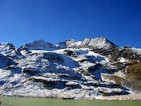 Piz Cambrena 3603 mt in Bernina Group