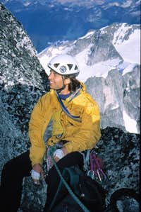 Beckey/Chouinard (Bugaboos) - near summit