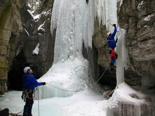 Jasper/Hinton Ice Climbs