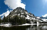 Granite Peak, & Lower Twin Lake