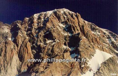 Mont Blanc, Pilier Central du Frêney  (Solo)