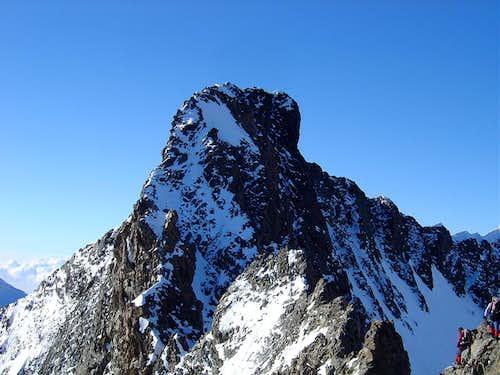 Piz Bernina 4049m, the final