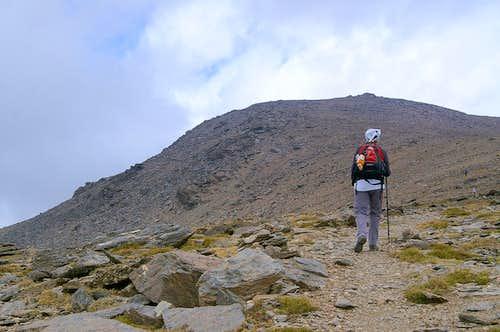 Ascending Mulhacen