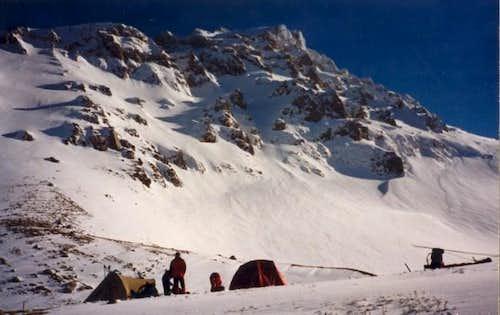 Camping under Skorda...