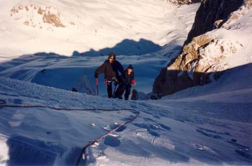 Climbers passing through...