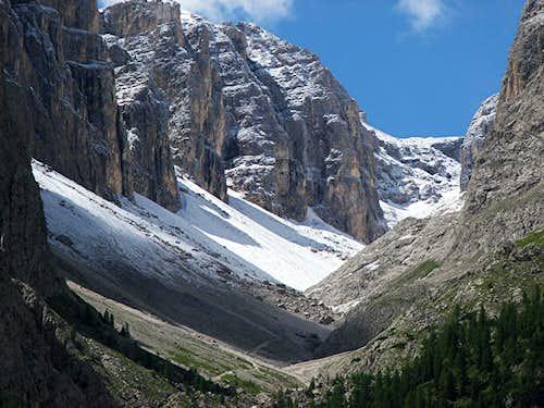 Val de Mesdi from Kolfuschg