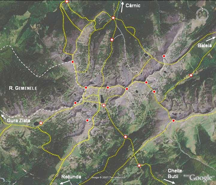 Overview of central Retezat