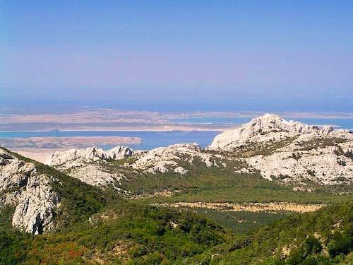Bojin Kuk (1110m) seen from...