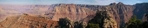 Escalante Route Pano-Grand Canyon