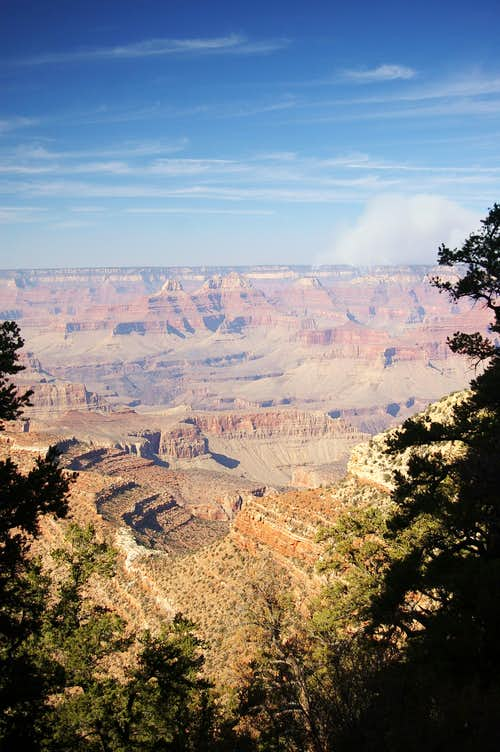 Fire at Grand Canyon