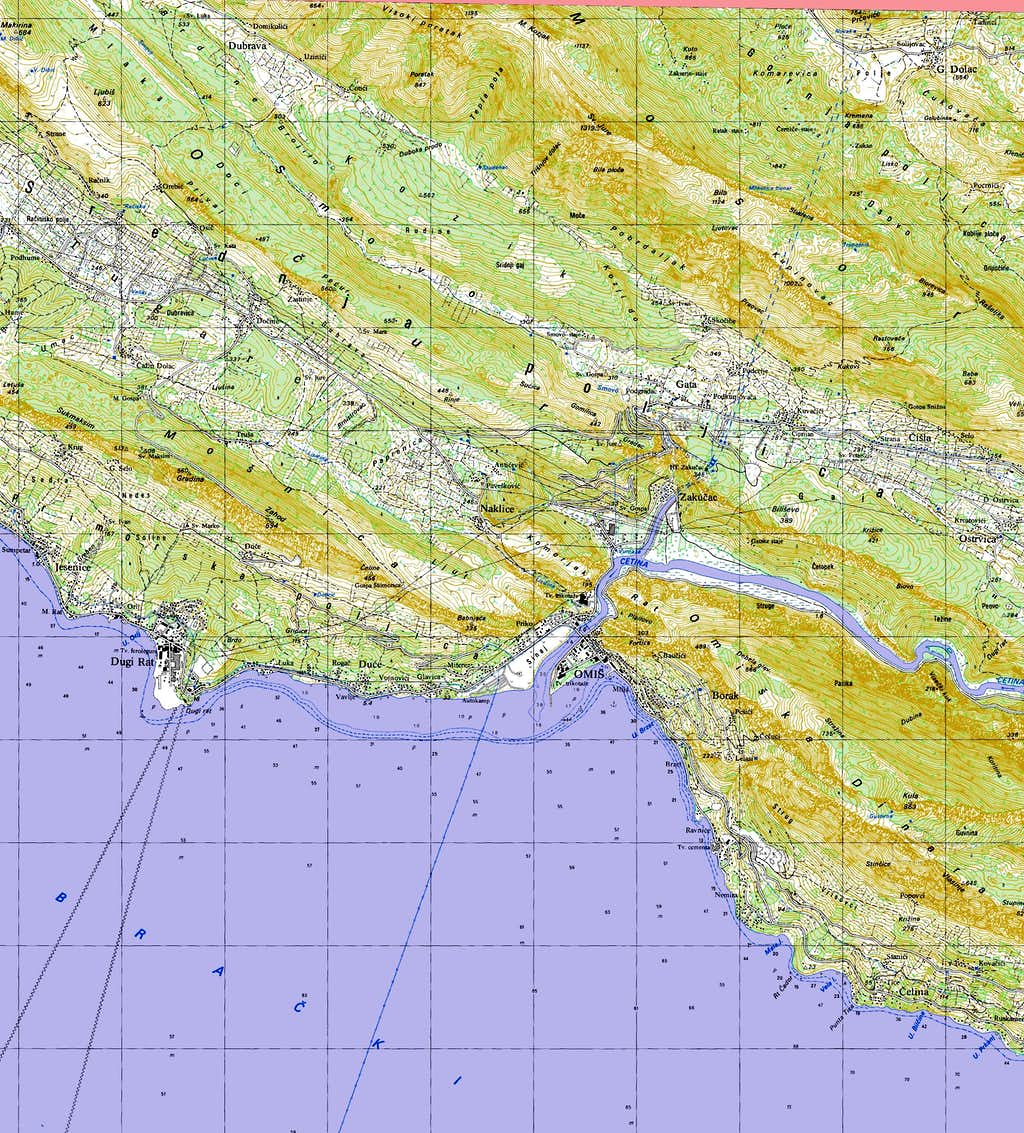 Kula - detailed topo map : Photos, Diagrams & Topos : SummitPost Detailed Topo Maps on