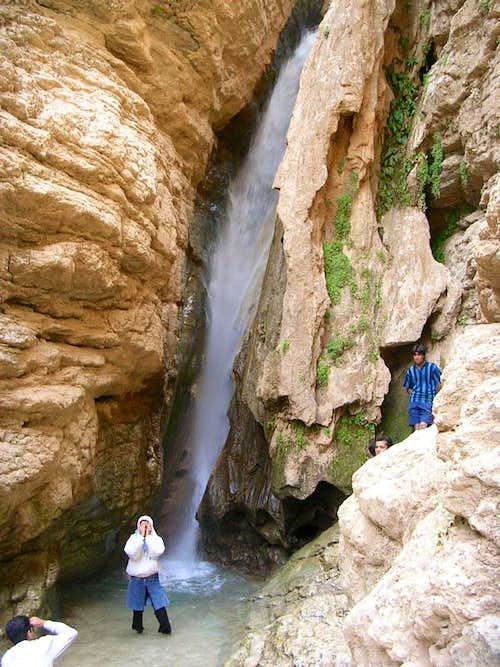 Akhlamad 3rd waterfall