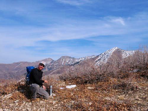 Shingle Mill Peak, Freedom Peak, and Provo Peak